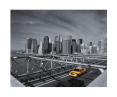Fototapete bunt, L/B: 260cm / 325,5cm, »Skyline«, FSC®-zertifiziert, rasch