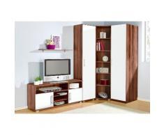 Jugendzimmer-Set braun, mit 1-trg. Kleiderschrank, yourhome