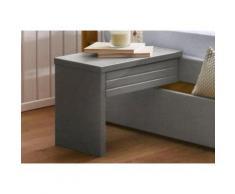 Home affaire Nachttisch »Capre« grau, pflegeleichte Oberfläche, FSC®-zertifiziert