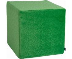 Sitzwürfel 45/45/45 cm grün, »Soft Nobile«, H.O.C.K.