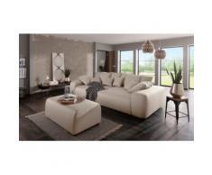Home affaire Big-Sofa mit vielen Kissen »Sundance« grau, inklusive loser Zier- und Rückenkissen, FSC®-zertifiziert
