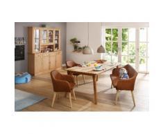 Home affaire Sitzbank braun, »Palma«, pflegeleichtes Kunstleder, FSC®-zertifiziert