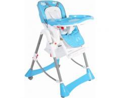 Hochstuhl mit höhenverstellbarem Sitz »Buono, türkis« blau, schmutzabweisend, CHIC4BABY