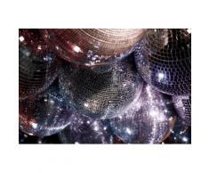 Fototapete schwarz, L/B: 300cm / 418,5cm, »Miami_Beach Disco«, Soft-Close-Funktion, FSC®-zertifiziert, rasch