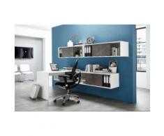 Büromöbel-Set »Altino« weiß, pflegeleichte Oberfläche, GERMANIA