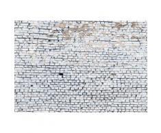 Komar Fototapete 368/254 cm bunt, B/H, »White Brick«, FSC®-zertifiziert
