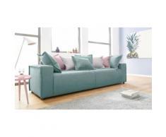 INOSIGN Big-Sofa inklusive Wendekissen grün, »Gina«, FSC®-zertifiziert