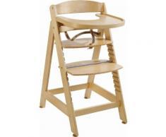 ROBA Hochstuhl aus Holz »Treppenhochstuhl Sit up Maxi, natur« beige