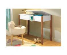 Home affaire Schminktisch mit aufklappbarem Deckel beige, »Chic«, pflegeleichte Oberfläche, FSC®-zertifiziert