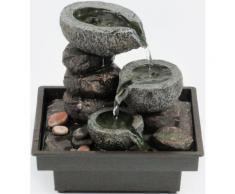 Home affaire Zimmerbrunnen »Floating Stones« grau