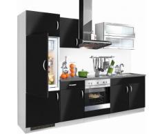 Küchenzeile »Amrum« schwarz, yourhome