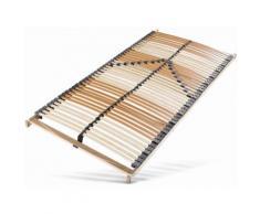 7 Zonen Lattenrost »Comfort-Lux« beige, nicht verstellbar, 100x200cm, FSC®-zertifiziert, BeCo