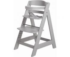 ROBA Hochstuhl aus Holz »Treppenhochstuhl Sit up III, taupe« grau