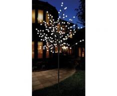 LED Baum in unterschiedlichen Größen schwarz, Höhe 120cm, 108 LED Kugeln, yourhome