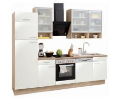 OPTIFIT Küchenzeile »Aue« weiß, ohne Aufbauservice, mit Schubkästen