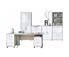 MAJA Möbel Büromöbel-Set »1202« beige, Hochglanz