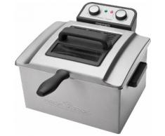 PROFI COOK Doppel-Fritteuse PC-FR 1038 schwarz