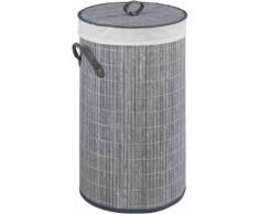 WENKO Wäschetruhe grau, »Bamboo«