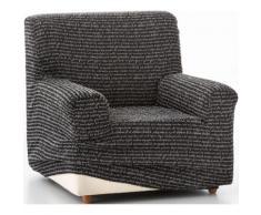 Sesselhusse »Benito« schwarz, Baumwollmischung, ZEBRA