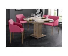 Bank rosa, pink, pflegeleichtes Kunstleder, yourhome
