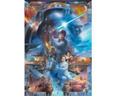 Fototapete 184/254 cm blau, B/H, »Star Wars«, yourhome