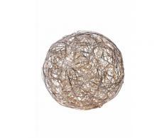 Näve Design-LED-Leuchte »Kugel« braun, Ø 50cm, 150 LED's, Energieeffizienzklasse: A++