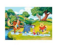Fototapete 254/184 cm bunt, B/H, »Winnie the Pooh«, yourhome