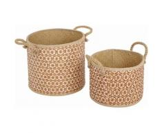 Home affaire Korb-Set beige, »Ethno«