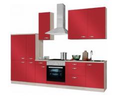 OPTIFIT Küchenzeile rot, »Faro«