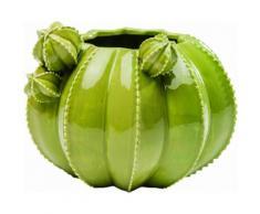 Vase Kaktus grün, B/T/H, KARE Design