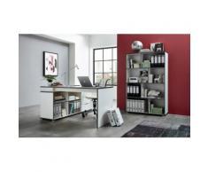 Büromöbel-Set weiß, »4081 + 4082«, pflegeleichte Oberfläche, GERMANIA