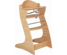 ROBA Hochstuhl aus Holz »Treppenhochstuhl Chair up, natur« beige