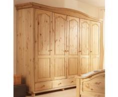Home affaire Kleiderschrank »Ulm« beige, Breite 250 cm, gelaugt/geölt, FSC®-zertifiziert