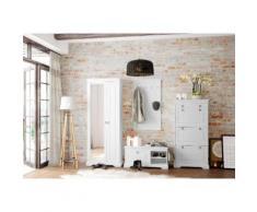 Home affaire Garderobenschrank »Sofia« weiß, FSC®-zertifiziert
