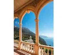 Home affaire Fototapete »Insel Mallorca« blau, B/H