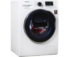 SAMSUNG Waschtrockner WD5500 AddWash WD8EK5400OW/EG weiß, Energieeffizienzklasse: A