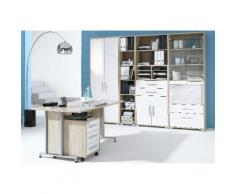 MAJA Möbel Büromöbel-Set »1201« weiß, Hochglanz