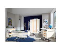 Jugendzimmer-Set orange, Soft-Close-Funktion, WIMEX
