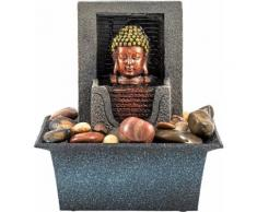 Home affaire Zimmerbrunnen Buddha bunt, »Lotus«