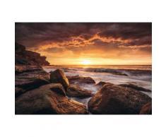 Fototapete braun, B/H, »Galbraith - Cape Solander«, yourhome