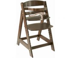 ROBA Hochstuhl aus Holz »Treppenhochstuhl Sit up III, braun« braun