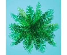 Fototapete »Palme_Baumkrone« bunt, L/B: 300cm / 300cm, FSC®-zertifiziert, rasch