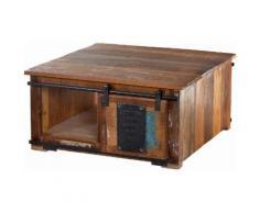 SIT Couchtisch-Truhe aus recyceltem Altholz »Jupiter« bunt, FSC®-zertifiziert, SIT-Möbel