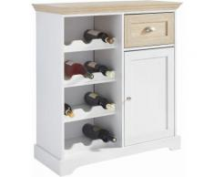 Home affaire Weinschrank weiß, »Maze«, FSC®-zertifiziert