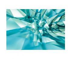 Komar Fototapete 368/254 cm »3D Crystal Cave« bunt, B/H, FSC®-zertifiziert