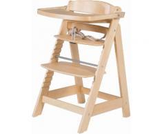 ROBA Hochstuhl aus Holz »Treppenhochstuhl, Sit Up Fun, natur« beige