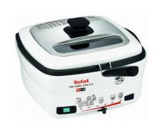 TEFAL Fritteuse deLuxe FR4950 mit Pfannenwender weiß