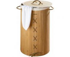 WENKO Wäschetruhe braun, »Bamboo«