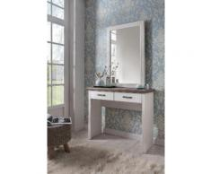 Home affaire Schminktisch »Lugano« weiß, pflegeleichte Oberfläche, Soft-Close-Funktion, FSC®-zertifiziert
