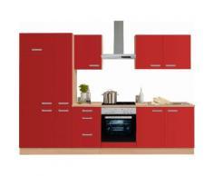 OPTIFIT Küchenzeile rot, »Odense«